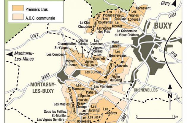 Montagny crus, Burgundy