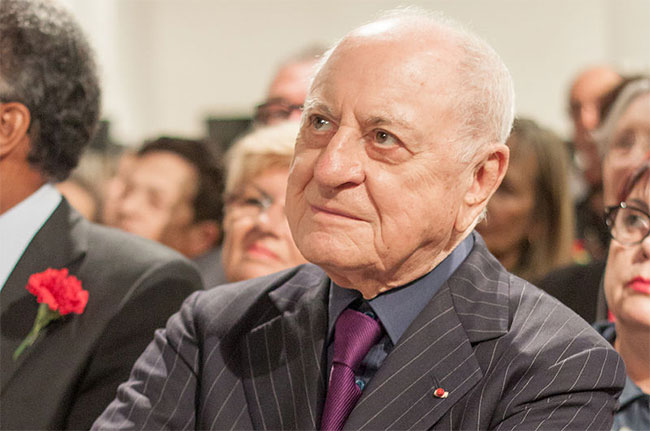 Pierre Bergé, Yves Saint Laurent co-founder, wine auction
