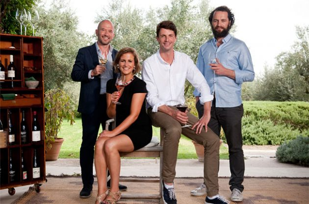 The Wine Show, Joe Fattorini, Amelia Singer, Matthew Goode and Matthew Rhys