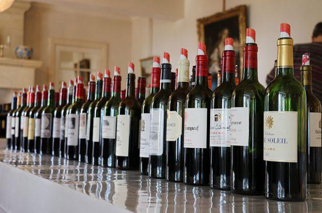 Bordeaux 2015 en primeur wines at Grand Cercle tasting at Bellefont-Belcier