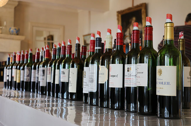 Bordeaux 2015 en primeur wines at Grand Cercle tasting at Bellefont-Belcier