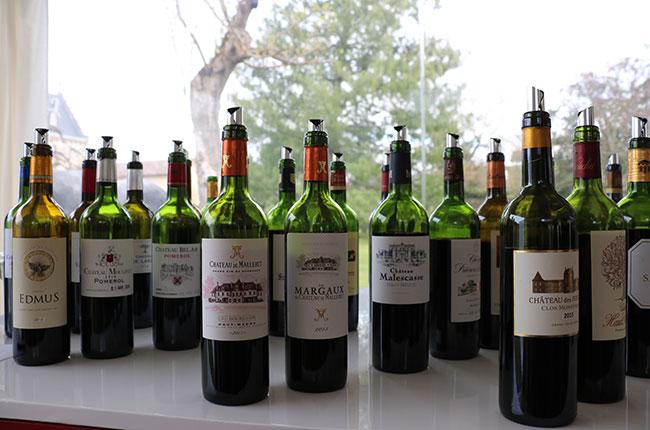 Bordeaux 2014 scores