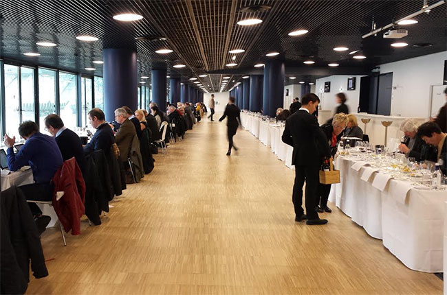Bordeaux 2015 Graves and Pessac wines were tasted at the Nouveau Stade de Bordeaux on Tuesday 5 April.