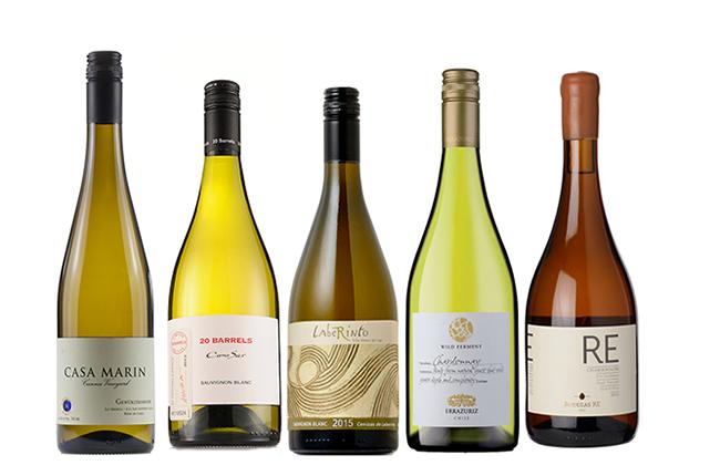 Chilean white wines