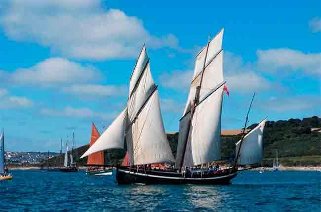Sailing wine