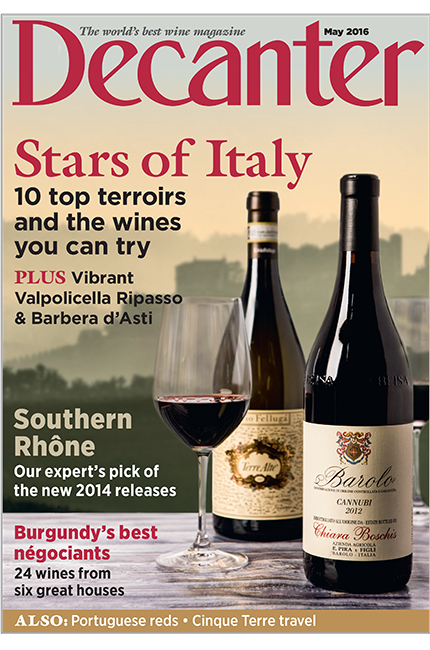 Decanter May issue