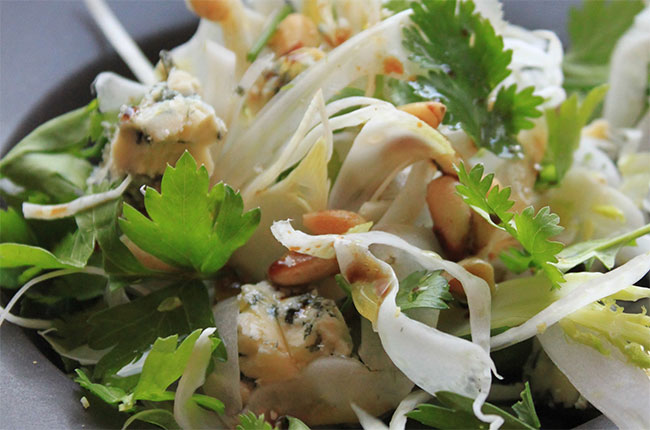 Michel Roux Jr's stilton salad