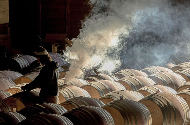 Robert Holmes, wine photographer of the year 2016, Maysara winery