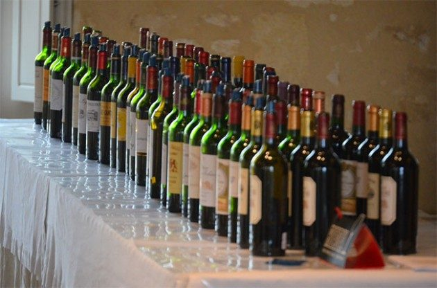 High alcohol wines