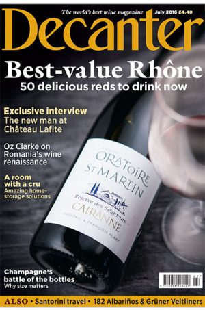 Decanter July cover