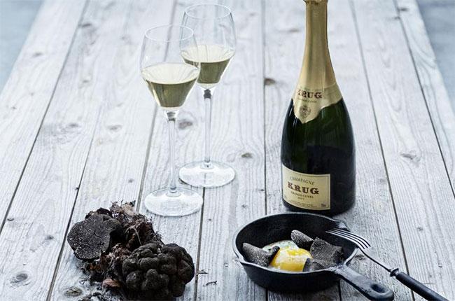 Krug, Champagne flute