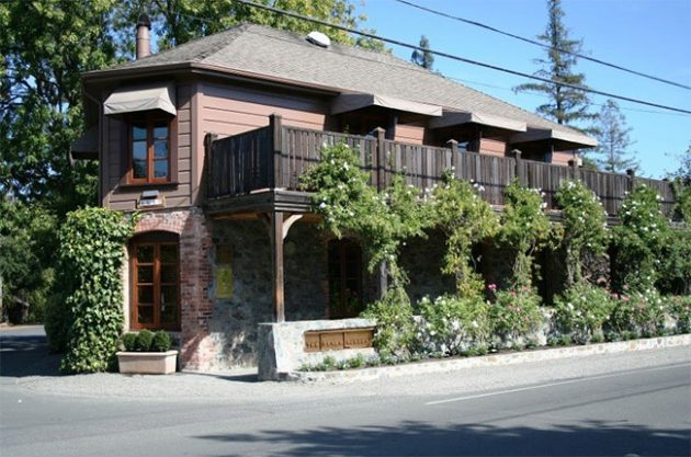 French Laundry restaurant in Yountville, Napa Valley