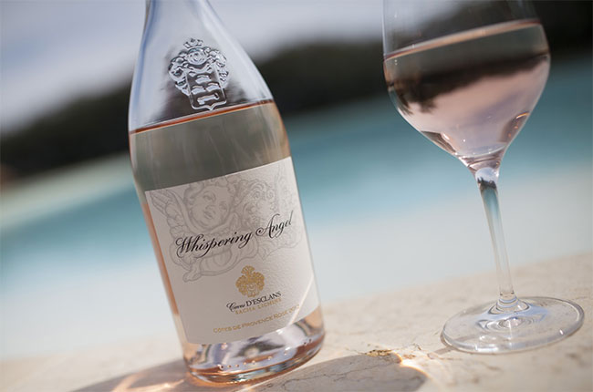 Whispering Angel, rosé wine