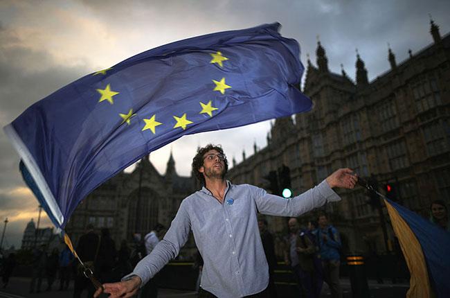 Brexit protest, pro EU, London