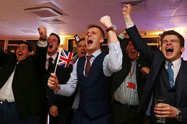Brexit supporters, eu