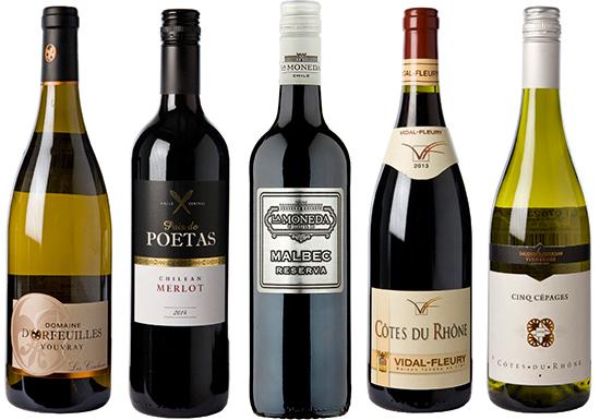 dwwa value wines, Platnium winners