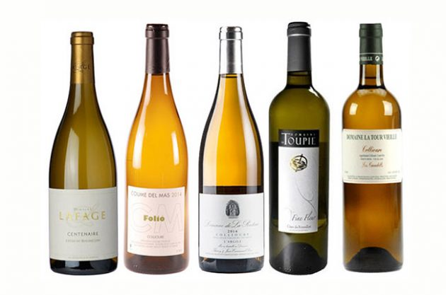 Roussillon white wine