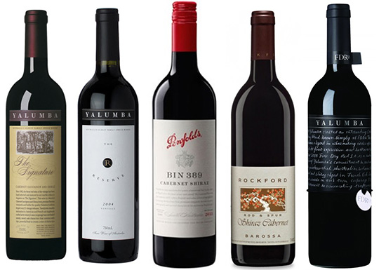 Australia: Best Cabernet Shiraz blends