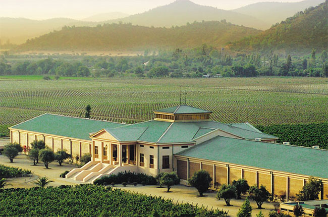 Veramonte winery in Chile, opened in 1998.