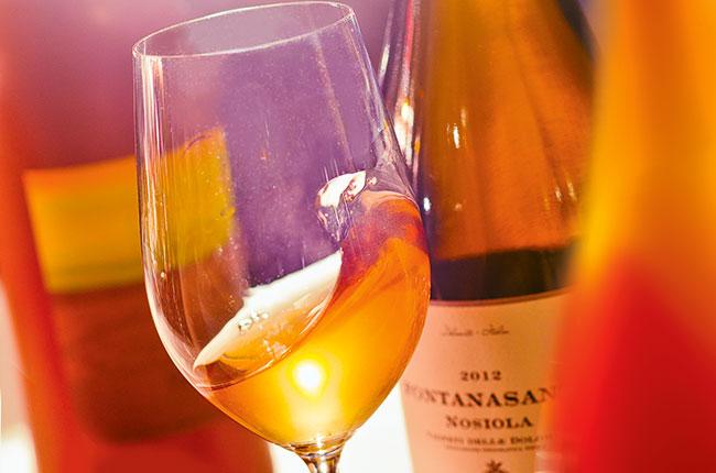 serve orange wine