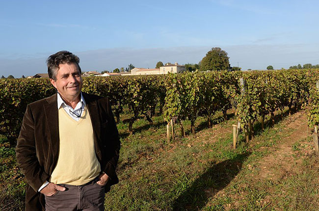 Professor Denis Dubourdieu in October 2014, Bordeaux