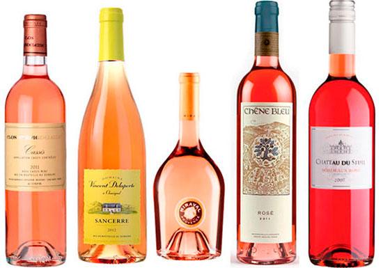 Magnums of rosé for summer