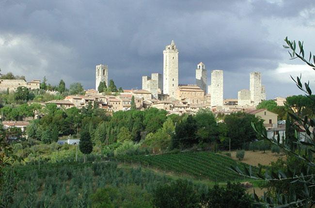 Tuscany's dry white wine: Vernaccia di San Gimignano