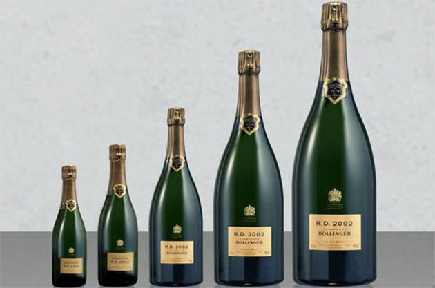 Champagne size matters, bollinger