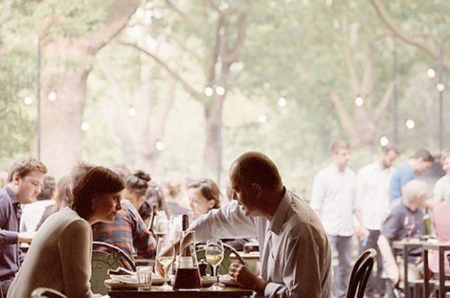 Outdoor restaurants and bars