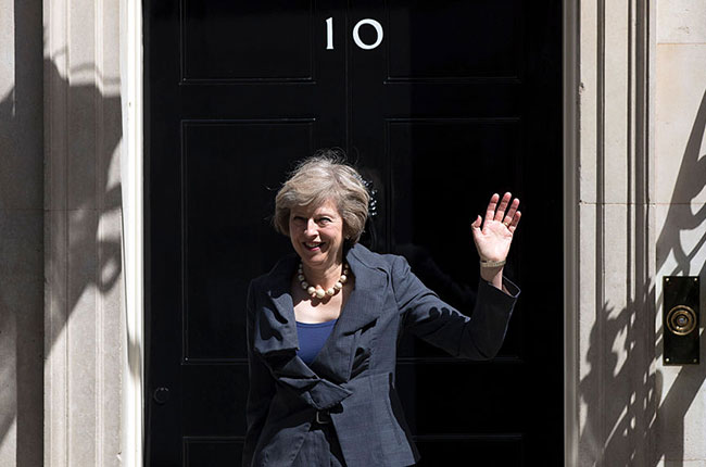 Theresa May, UK prime minister
