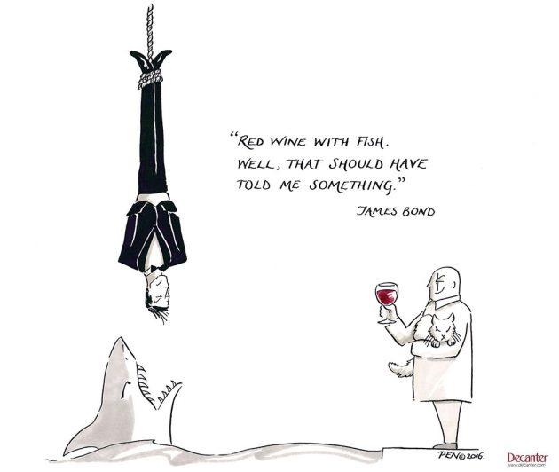 james bond, wine quote, decanter