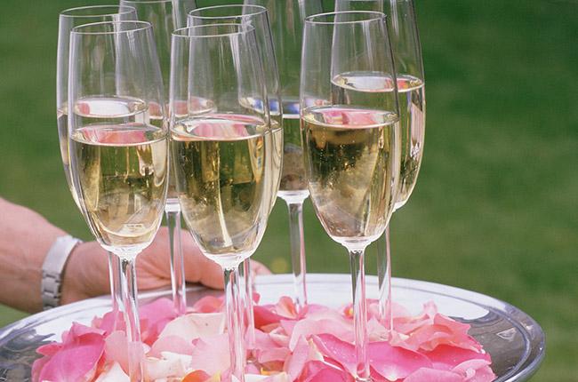 Bank holiday champagne