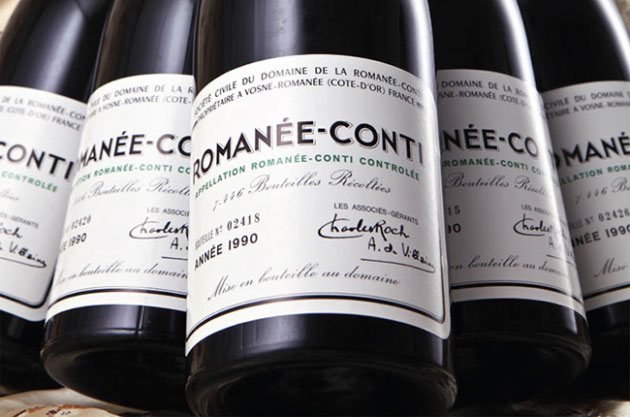 DRC, sotheby's, the best wine