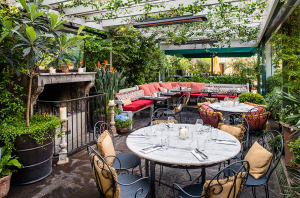 Outdoor restaurants London