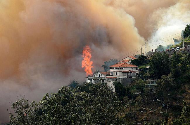 Portugal fire, Madeira fire