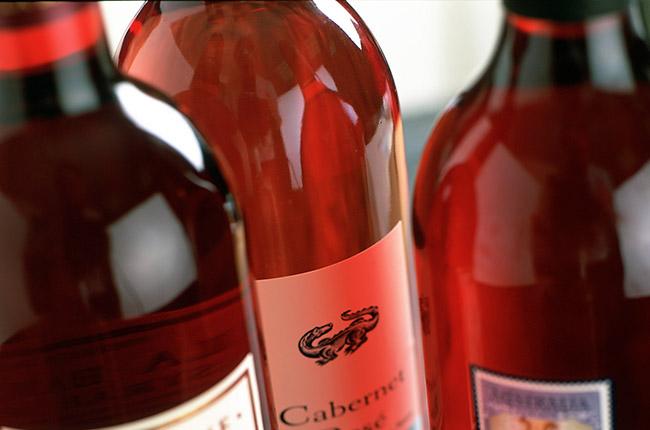 Rosé winemaking
