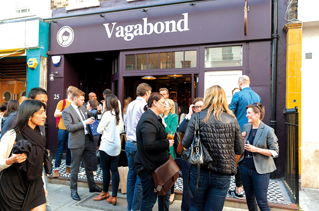 Vagabond London winery