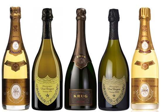 champagne years Vintage