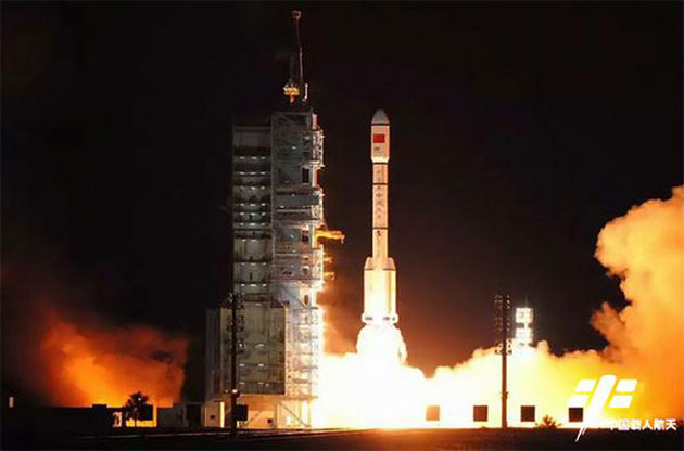 China wine in space, tiangong-2