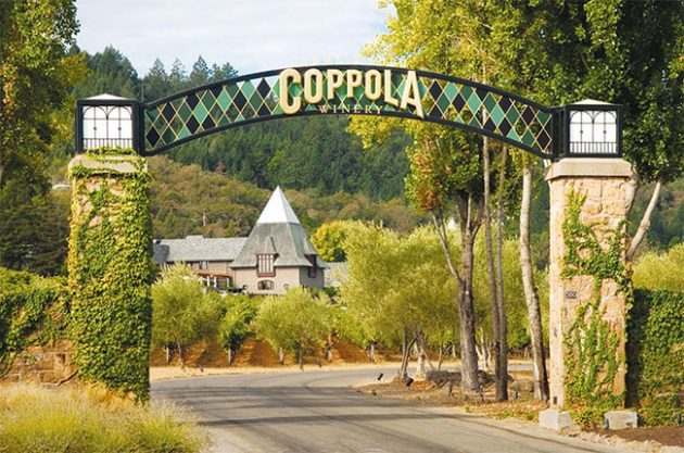 Coppola winery, sonoma