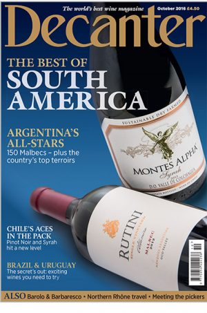 Decanter October 2016