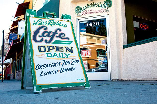 Paso Robles, Los Robles Cafe