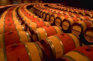 opus one, oak barrels for wine