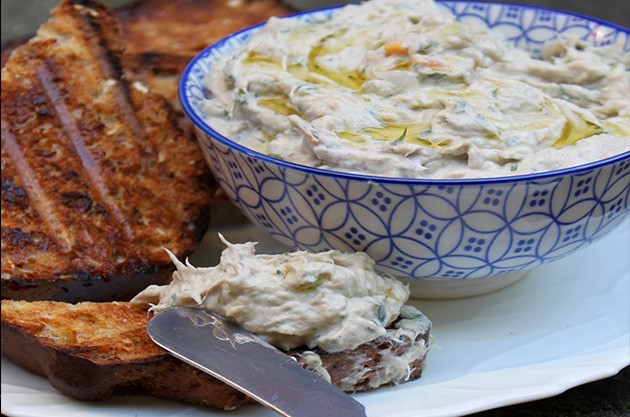 Rillettes of mackerel