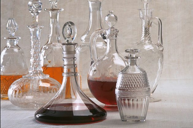 clean decanter