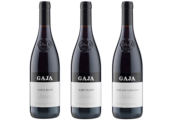 Gaja single vineyard Barbaresco