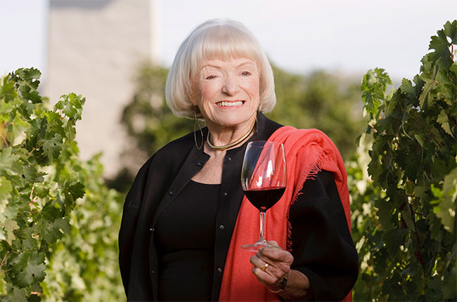 Margrit Mondavi, mondavi winery