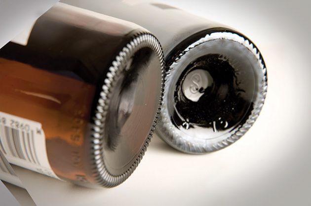 wine bottles punt