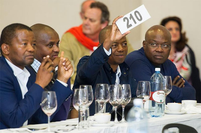 Cape Winemakers guild, south african wine auction