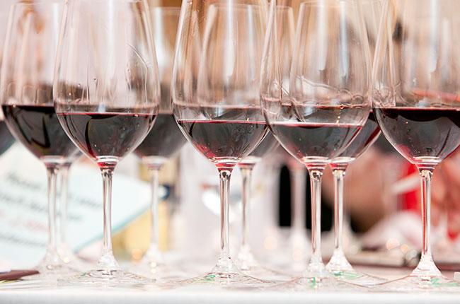 WSET, red wine